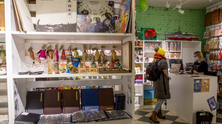 В Красноярске открылся магазин, в котором можно арендовать полки