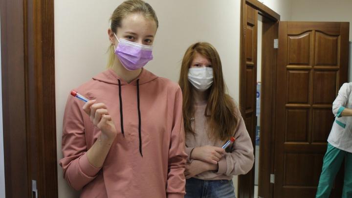 Ученики физматшколы при НГУ сдали тест на антитела к коронавирусу— переболела половина