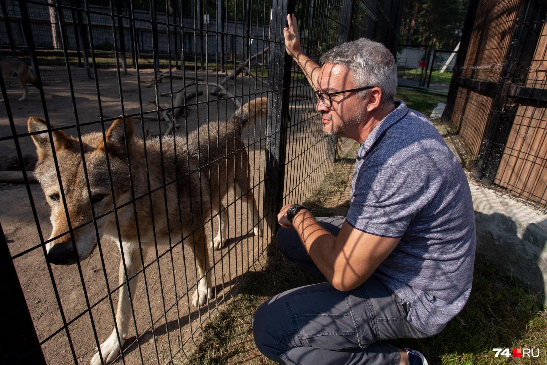 Директор зоопарка хочет создать комфортные условия для всех своих подопечных