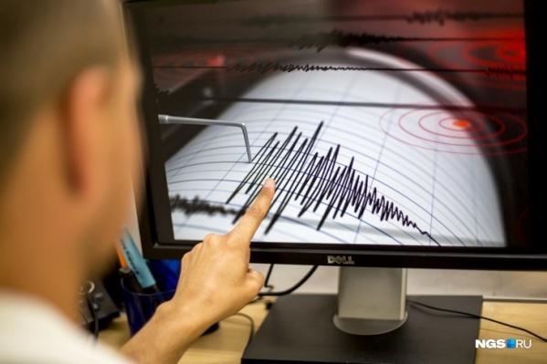 Землетрясение произошло около 4 часов ночи