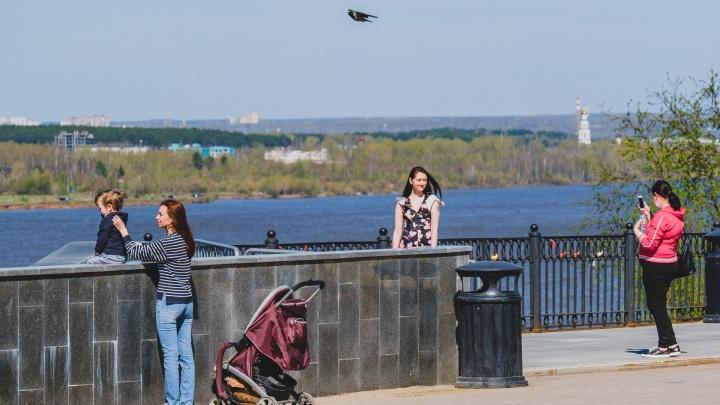 Снимают запрет на прогулки и открывают парикмахерские: коротко о ситуации с коронавирусом в Перми за 8 мая
