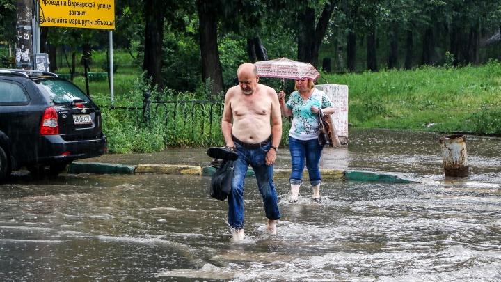 Мэрия просит денег у области: на ремонт ливневок в Нижнем Новгороде нужно не менее 137 млн рублей