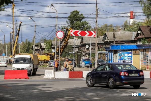 Строительство многоуровневой развязки стартовало в августе