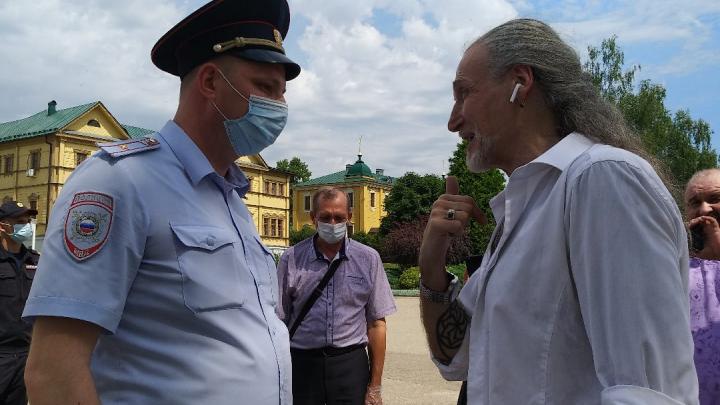 Дело против Джигурды о посещении закрытого на карантин Дивеева поступило в суд