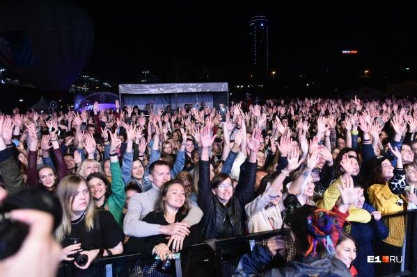 Точные подсчеты, сколько людей пришло на мероприятие, состоятся после фестиваля