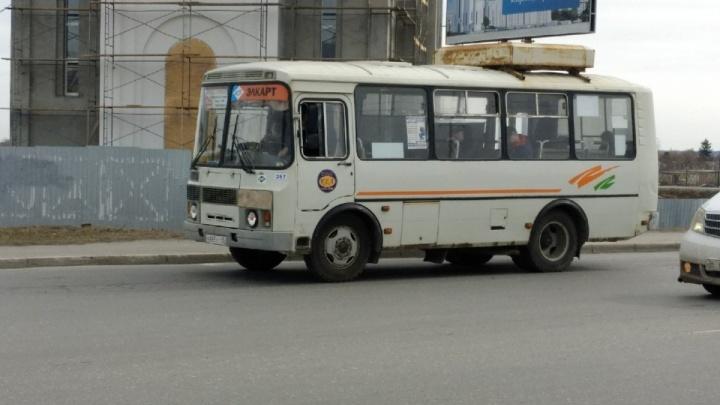 В Кургане десятки автобусов не вышли на маршруты