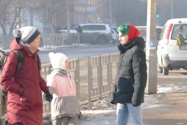 Мальчик говорил, что он приехал из Сосновоборска и немного заблудился
