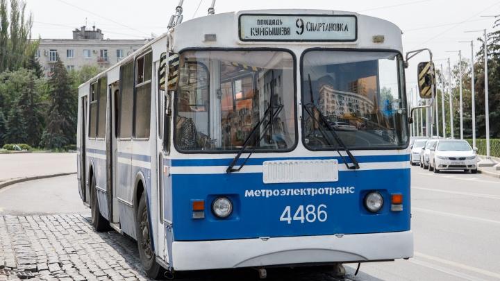Мэрия Волгограда вернула на улицы один троллейбусный маршрут