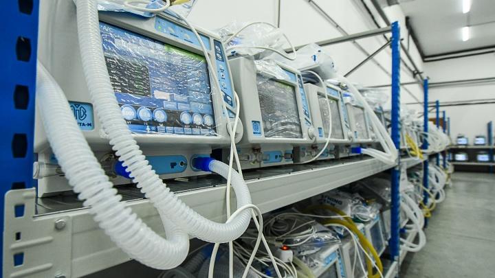 В России временно отказались от уральских аппаратов ИВЛ. Мы узнали, о каком количестве идет речь