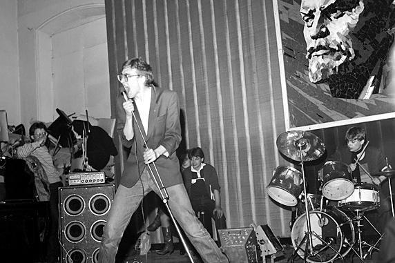 История тюменского рок-движения началась с концерта, который подготовили члены университетского рок-клуба