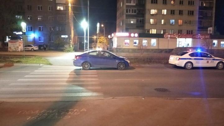 На аварийном переходе в Ленинском районе сбили женщину
