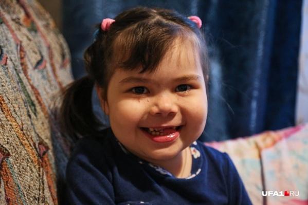 Агате пять лет и без лечения она умрет