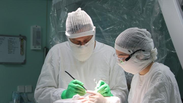 Челябинские хирурги избавили восьмимесячного ребёнка от кисты в мозгу