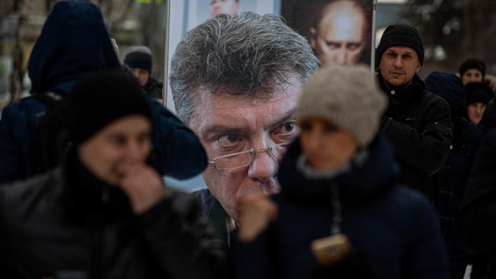 «Наша страна — это страна вечного самоистязания»: 10 фото с митинга в память Бориса Немцова