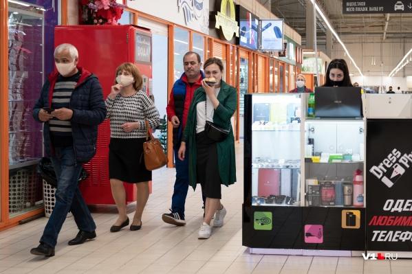 Судя по всему, волгоградцы соскучились по шопингу
