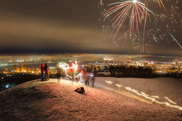Для любителей походов есть отличный вариант встречи Нового года