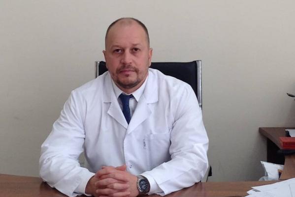 Стаж работы Сергея Дергаля в здравоохранении составляет 15 лет