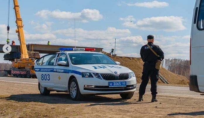 На границе с Новосибирской областью развернули блокпост