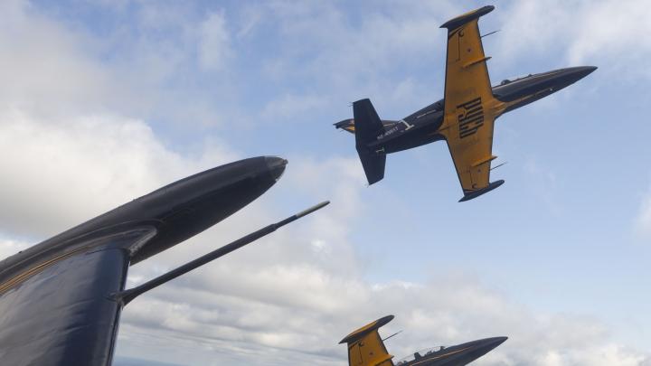 22 августа на набережной пройдет авиашоу пилотажной группы «Русь»
