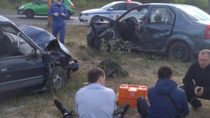 В челябинском горздраве рассказали, сколько человек пострадали в утреннем ДТП с силовиком