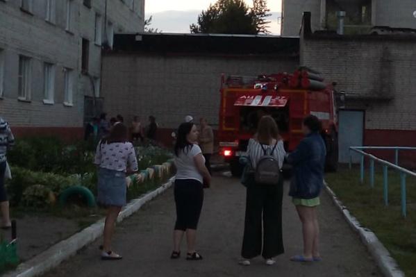 Возгорание произошло вечером 3 июня в общежитии № 7