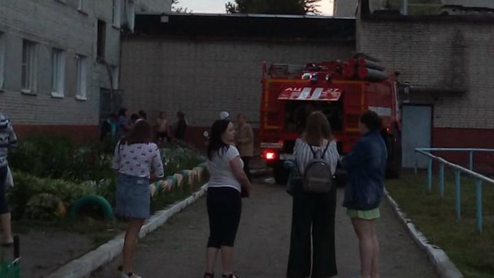 В общежитии КГСХА произошел пожар