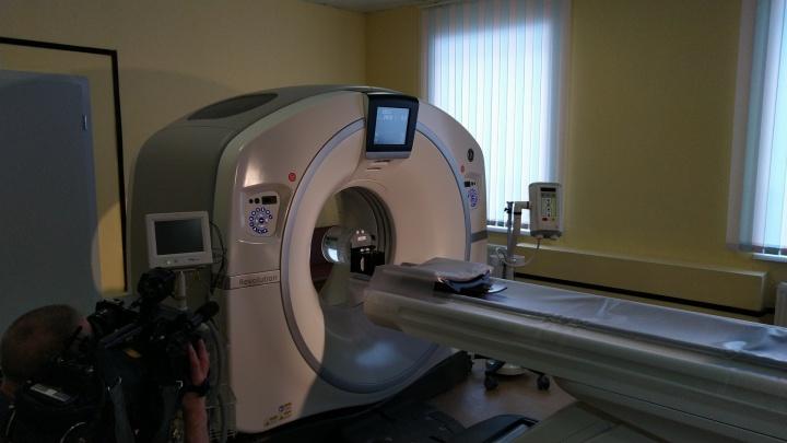 В Омске для диагностики коронавируса запустили дополнительный томограф