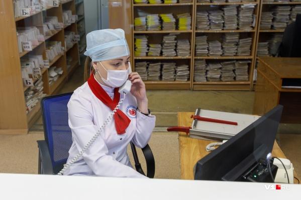 Волгоградская область 19-я по общему числу заболевших