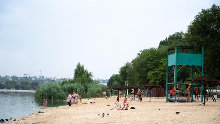 Пляж на Северном водохранилище останется закрытым на лето