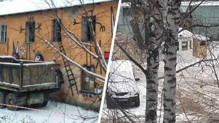 Хотели сквер, а получили парковку: на месте снесенной двухэтажки у Метеогорки создали платную стоянку