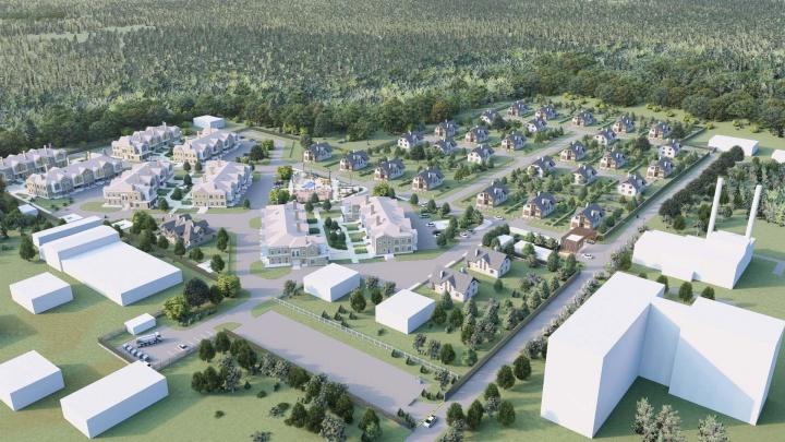 Мэрия показала проект коттеджного поселка на окраине Екатеринбурга