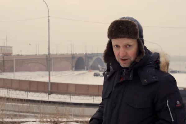 Пивоваров побывал в Красноярске в феврале