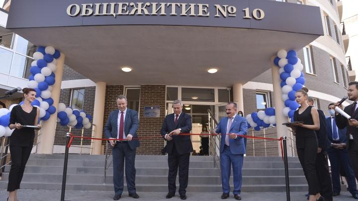 В честь 90-летия ДГТУ в Ростове открыли крупнейшее в ЮФО общежитие