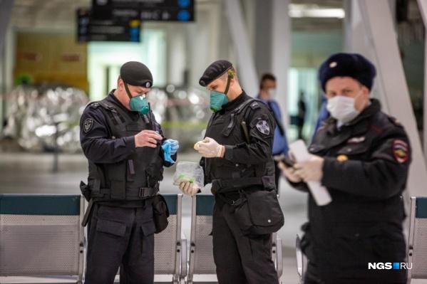 Контролировать соблюдения карантина будут в том числе и сотрудники МВД