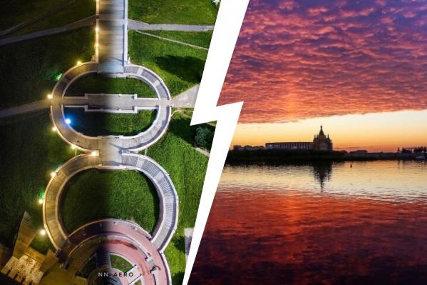 В Нижнем Новгороде есть чем полюбоваться
