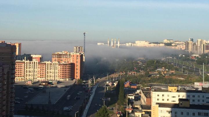 «Это Сайлент Хилл»: жители Уфы — о тумане, который накрыл город ранним утром