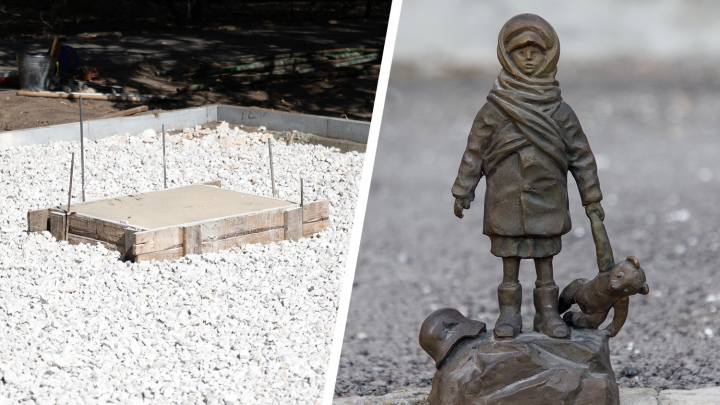 «Беззащитный ребёнок с игрушкой»: в Волгограде на площади Ленина откроют памятник детям военного Сталинграда