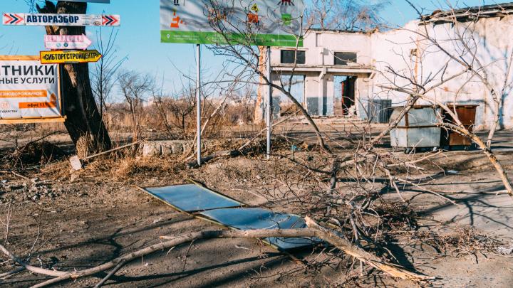 Ночь сорванных крыш: последствия урагана в Омске