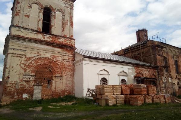 Храм Смоленской иконы Божией Матери был разрушен в советское время
