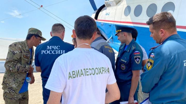 «Сделайте что-нибудь полезное»: жительница Башкирии призвала Хабирова поднять в небо вертолеты для тушения пожара