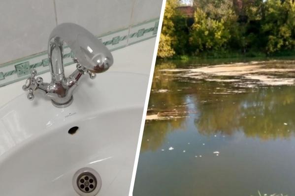 Из-за сброса навоза в реку в Ростове пришлось отключить воду