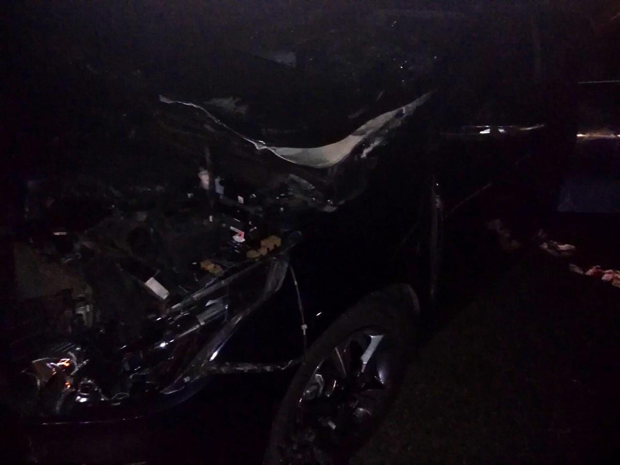 В больницу попали четыре человека, которые ехали в ВАЗе