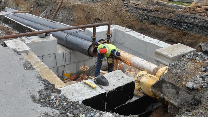 На Эльмаше на месяц закроют участок улицы из-за строительства водопровода
