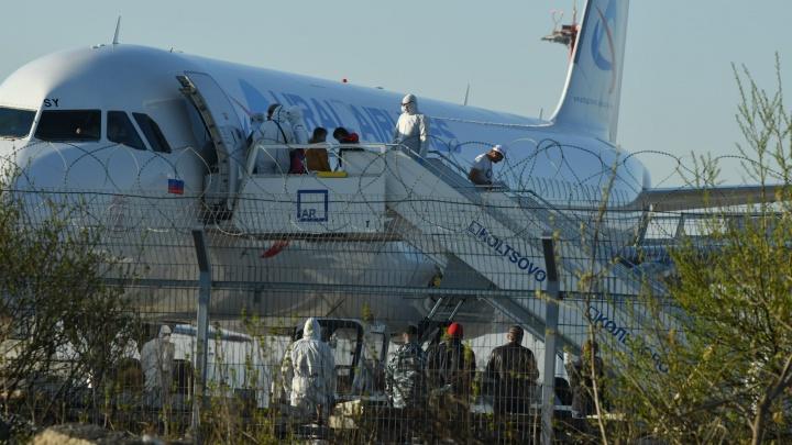 Вывозным рейсом в Екатеринбург прилетели 27 южноуральцев, застрявших из-за пандемии в Таджикистане