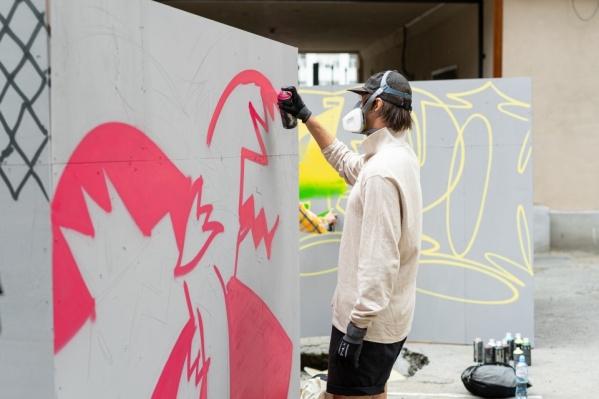 Благодаря «Стенограффии» в Екатеринбурге появился не один десяток крутых арт-работ