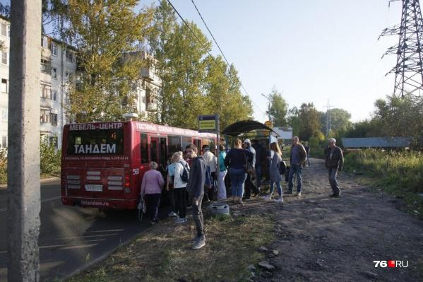 Автобусы будут ездить по временной схеме, как это было во время перекрытия первого участка Тутаевского шоссе