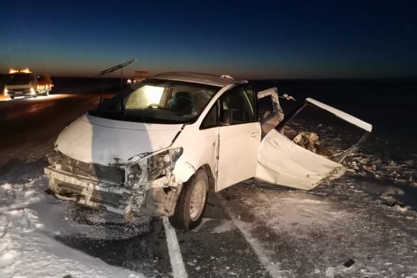 Пассажир «Тойоты» погиб на месте ДТП