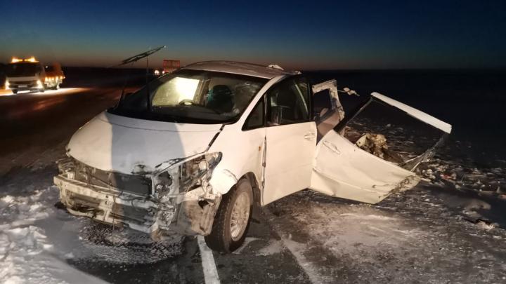 Один погибший и шестеро в больнице: в Новосибирской области произошло массовое ДТП с тремя грузовиками