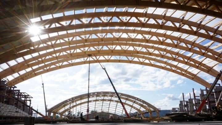 Власти потратят на строительство «Кузбасс-Арены» и ледового дворца «Кузбасс» больше, чем планировали