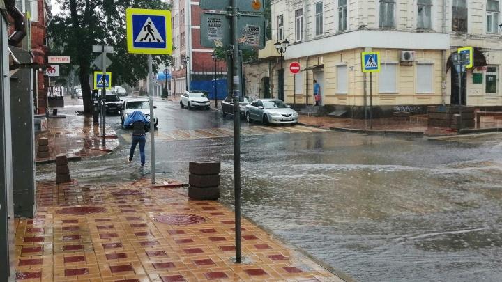 В МЧС предупредили о шквалистом ветре и грозе на Дону